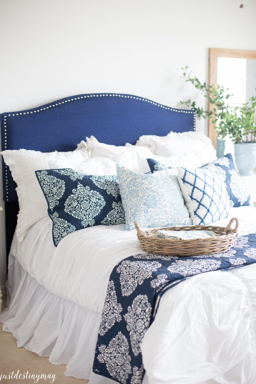 BHG Products from Walmart in the Guest Room