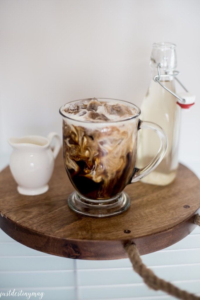 My Favorite Iced Coffee Recipe Just Destiny Mag