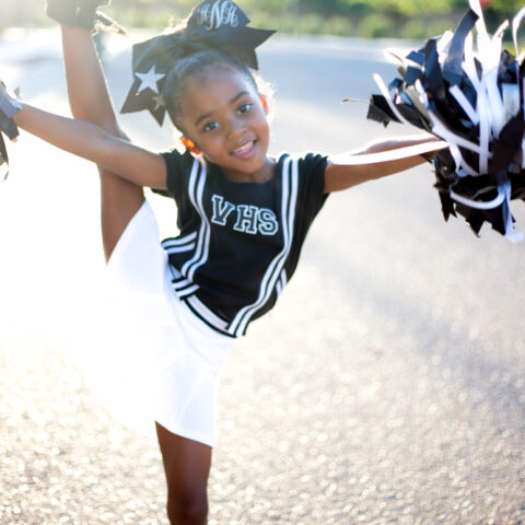 How to Make A Cheerleader Halloween Costume