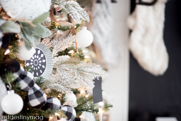 Glossy White Ornaments