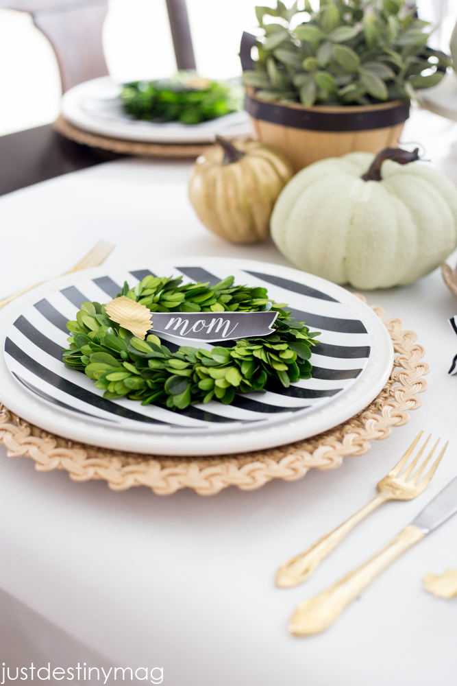 Thanksgiving Table Ideas - Just Destiny Mag