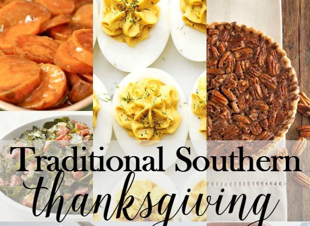 Traditional Southern Thanksgiving Menu