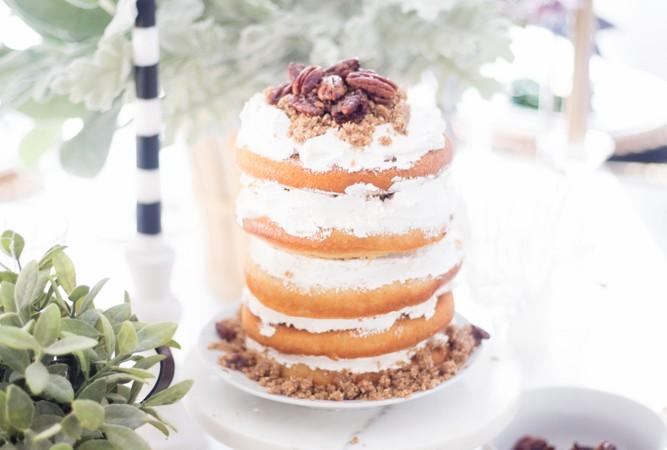 Pecan Naked Cake