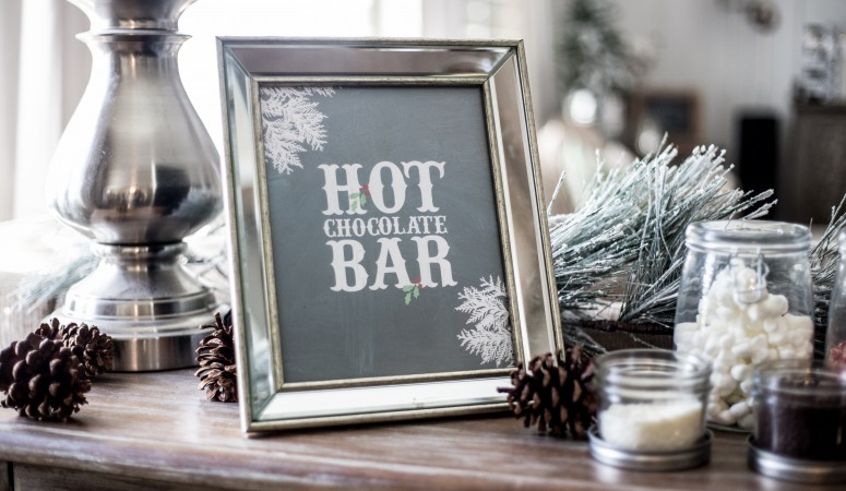 Instant Hot Chocolate Bar