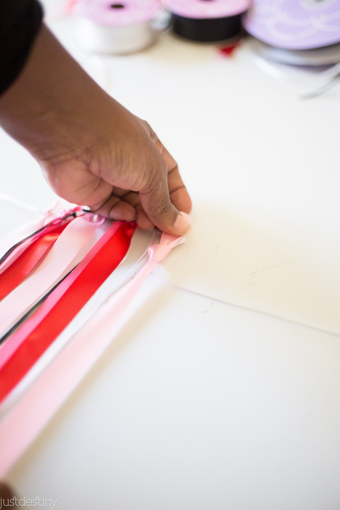 DIY Ribbon Banner-8