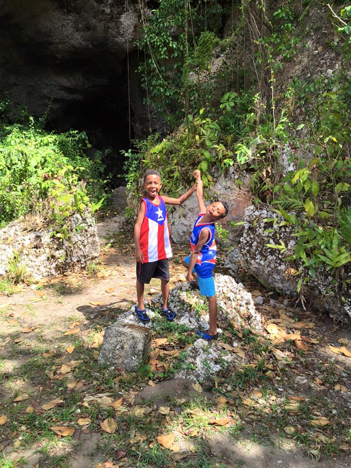 My boys in Puerto Rico