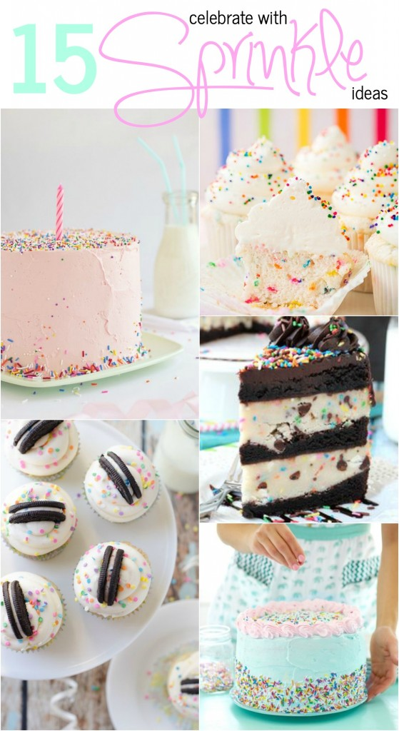 15 sprinkle ideas
