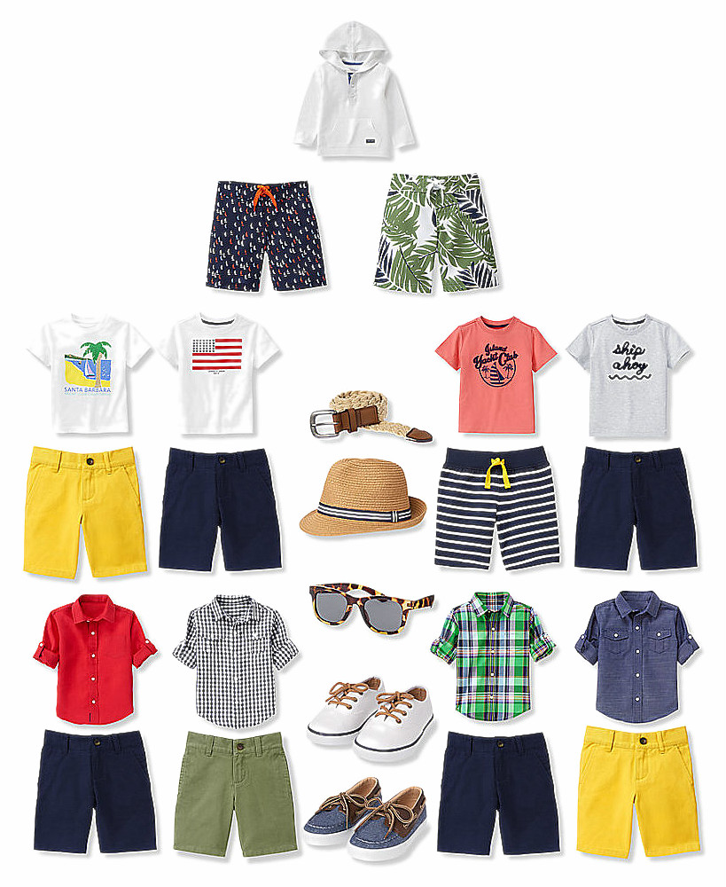 OB-Boys Everyday Summer Wardrobe