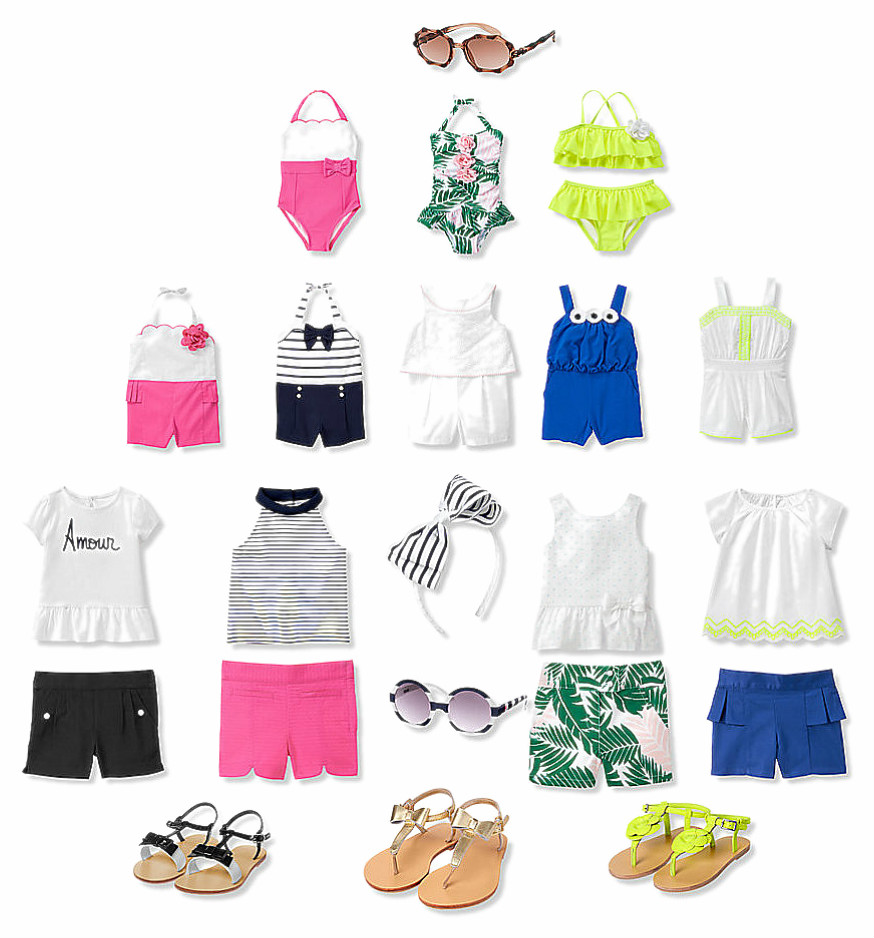 OB-Livy Girls Summer Wardrobe
