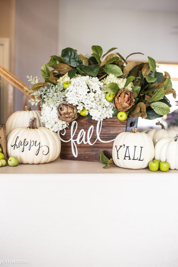 Pumpkin Decorating Ideas from Just Destiny Mag