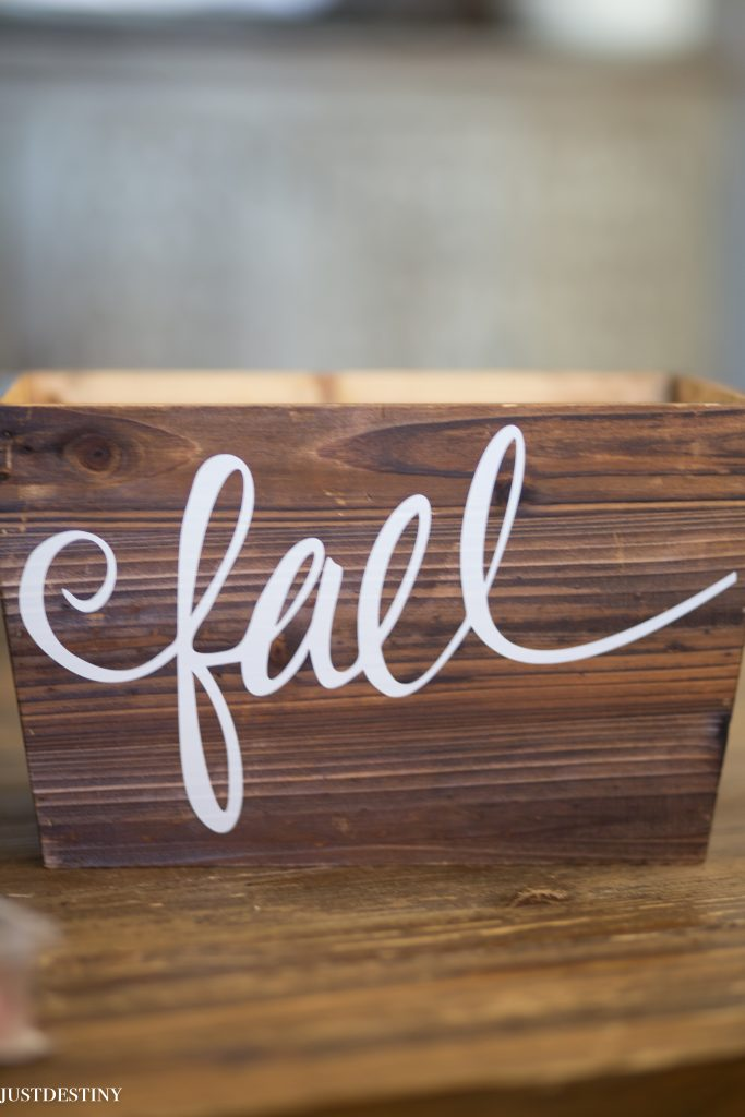 Easy Fall Decor with Just Destiny Mag-21
