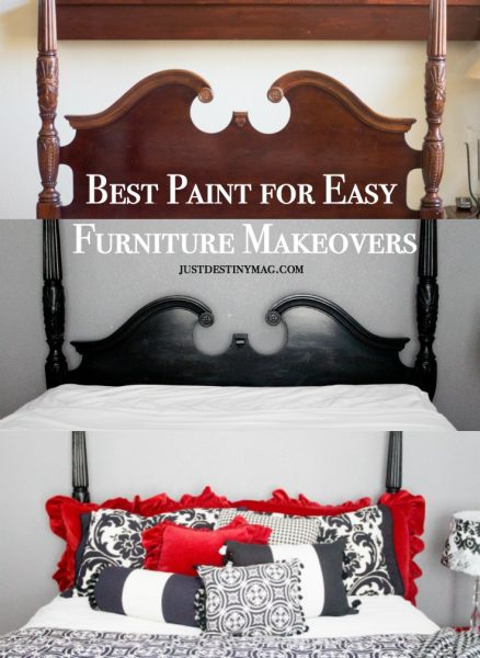 What's the best paint for easy furniture makeovers