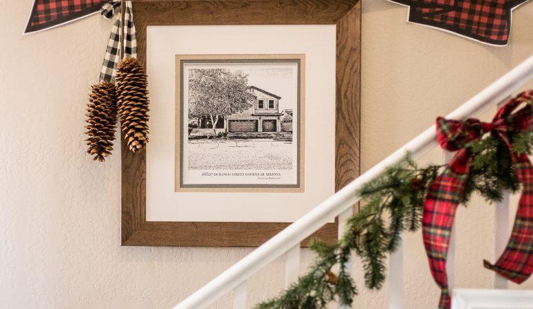 Buffalo Check Printable Christmas Banner