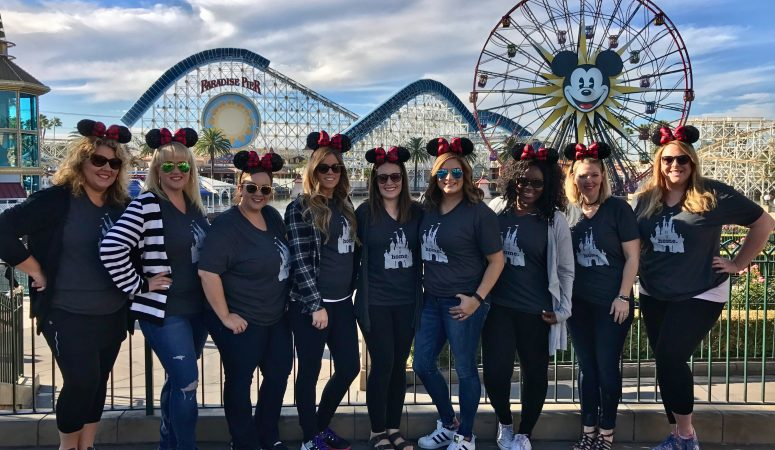 Girls Trip to Disneyland during the Holidays