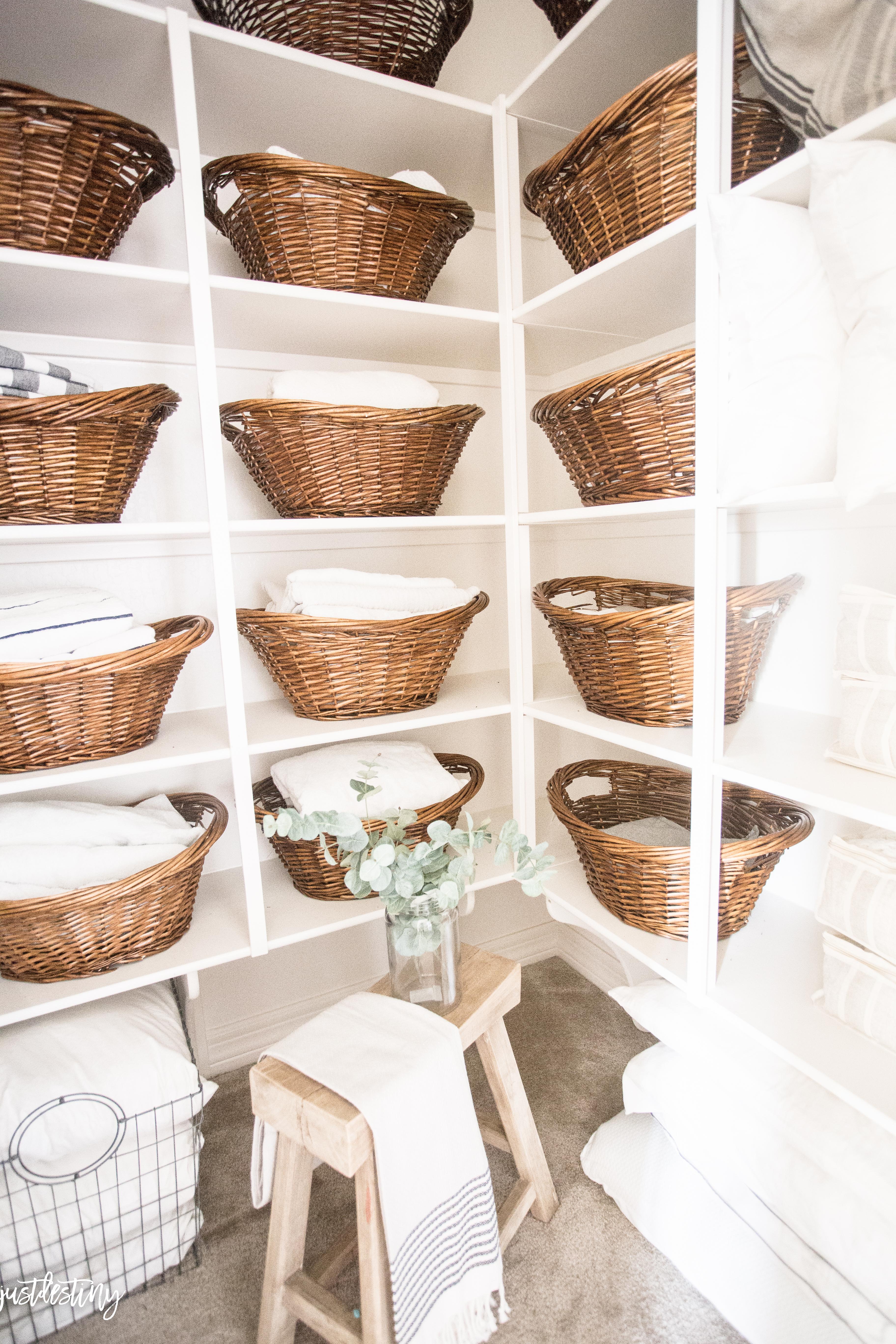 Linen Closet Organization Just Destiny