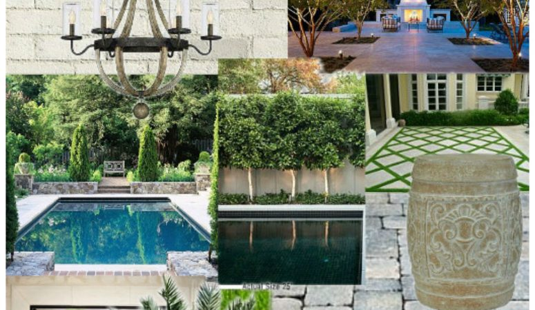 Backyard Inspiration: Modern Mediterranean