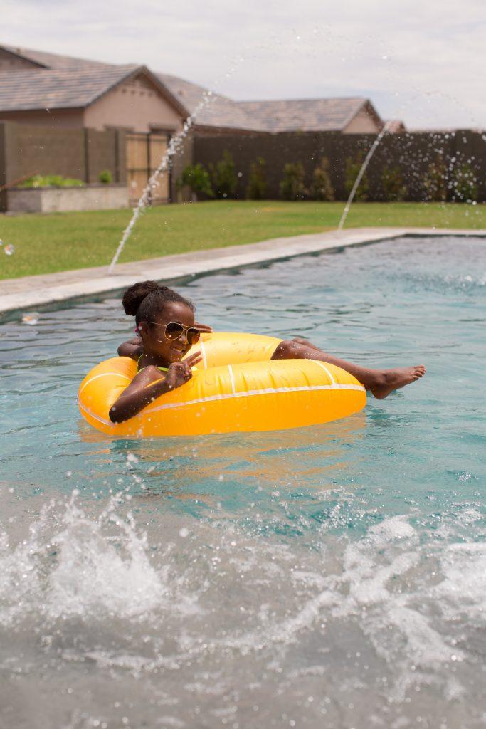 Diy Raining Men Costume: DIY Fruity Pool Floats