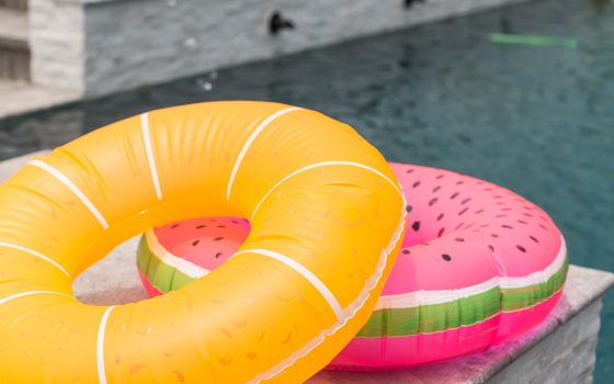 DIY Fruity Pool Floats