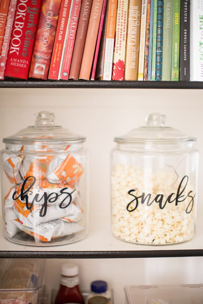 How to Organize your pantry snacks