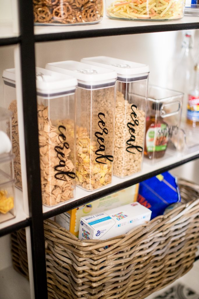 Cereal Pantry Organizers