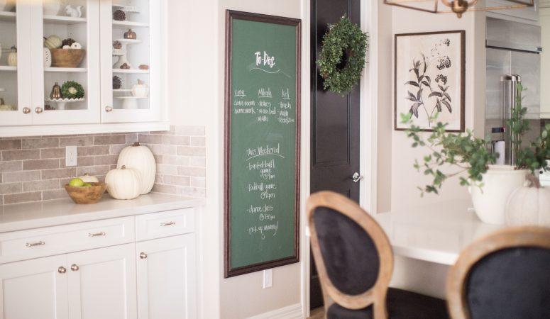 Michaels Custom Decor Kitchen Chalkboard