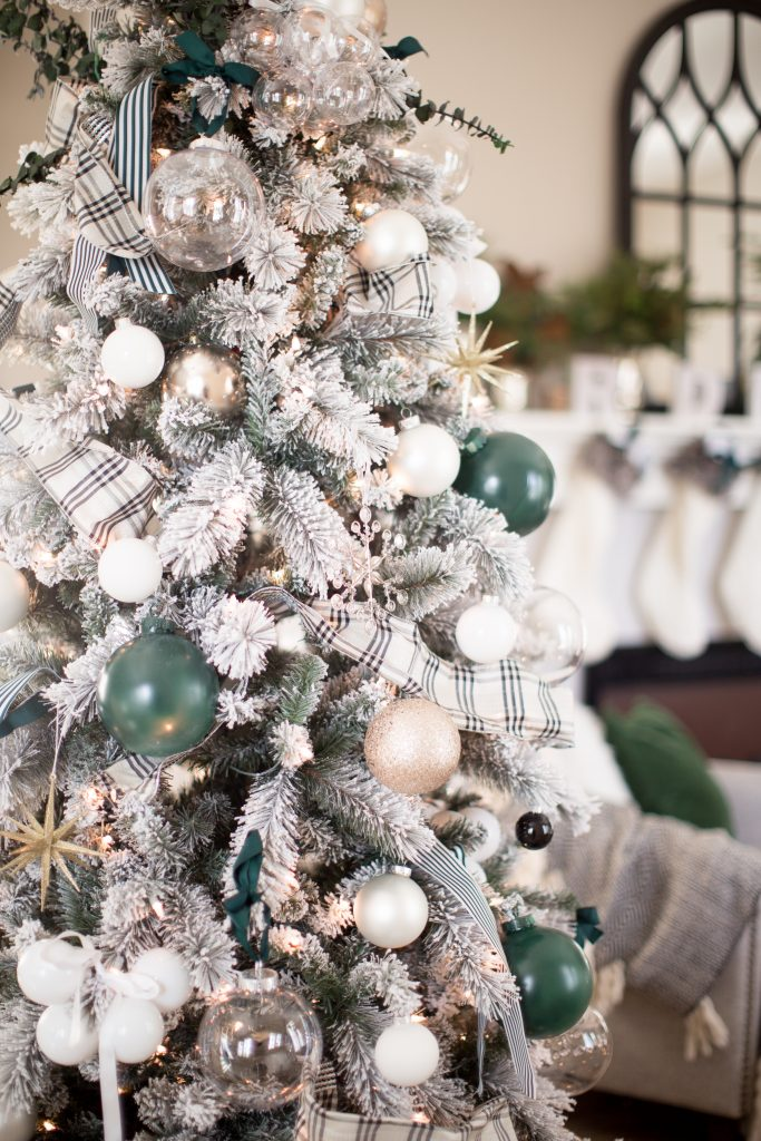 Mint Green And Red Christmas Tree Novocom Top