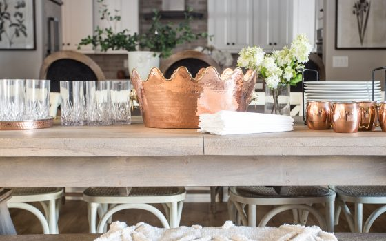 Save or Splurge? The Breakfast Nook Table