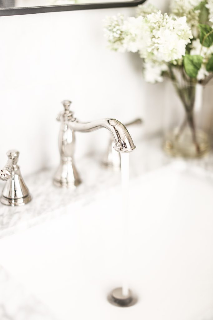 faucet bathroom gorgeous home collection widespread with brushed creative sink nickel faucets of depot delta cassidy for