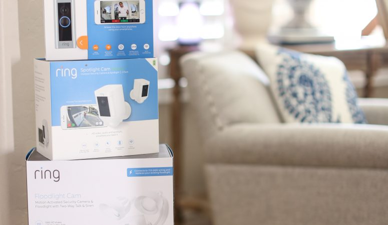 Smart Home Guide for Busy Moms: Setting up RING Smart Home Devices