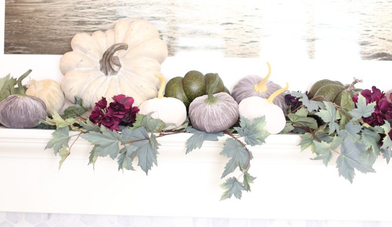 Elegant Fall Mantel Ideas