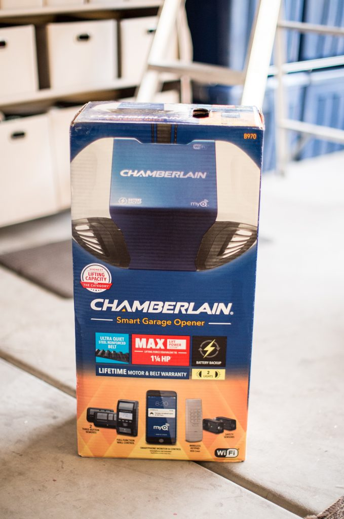 Smart Home Guide For Busy Moms Chamberlain Smart Garage Door Opener Just Destiny