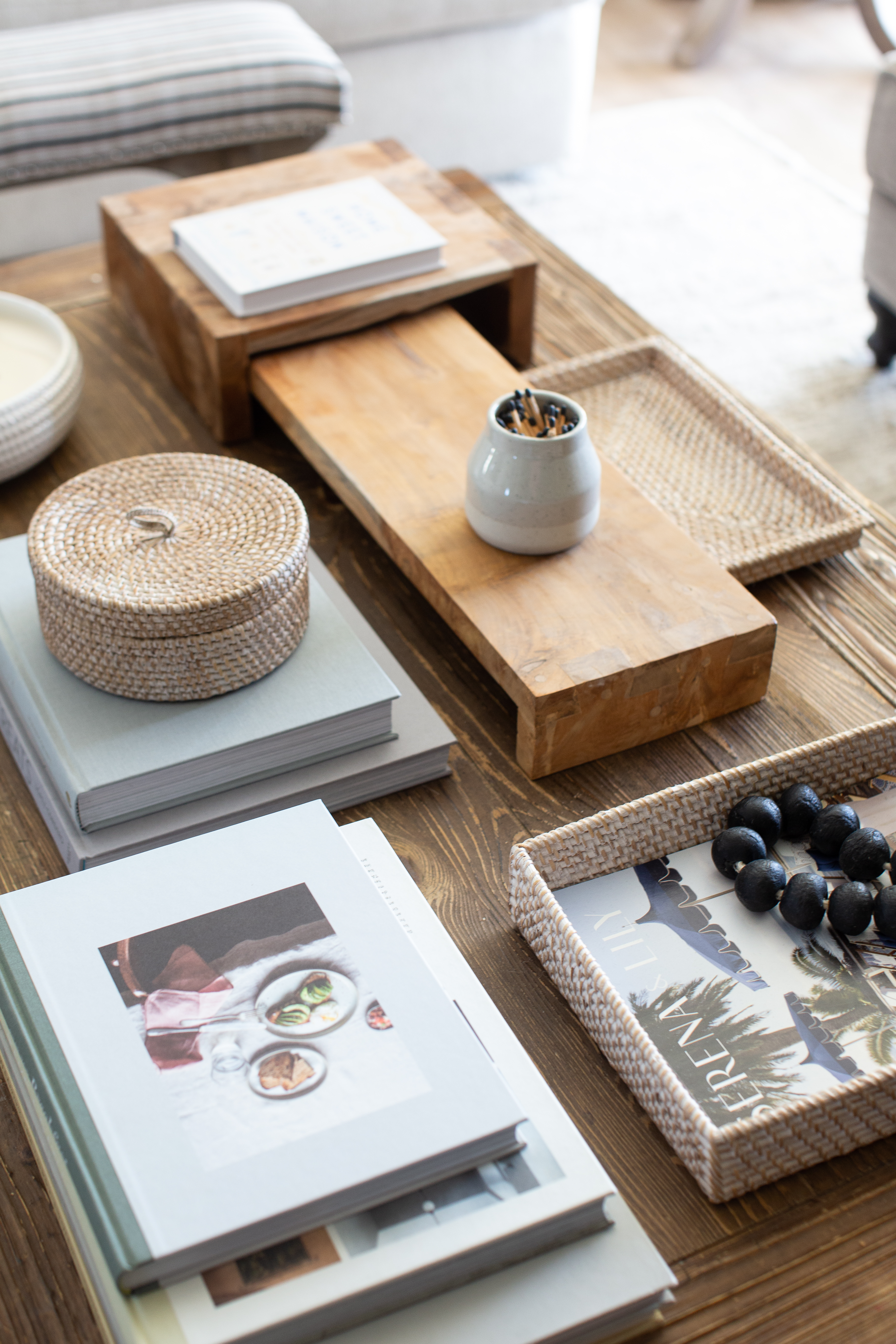 How to Decorate your Family Room Coffee and Side Tables