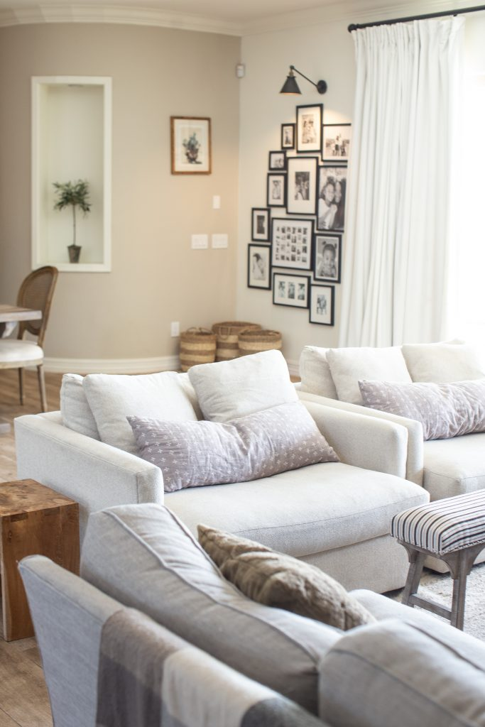 Cozy and Comfortable Family Room Vibes