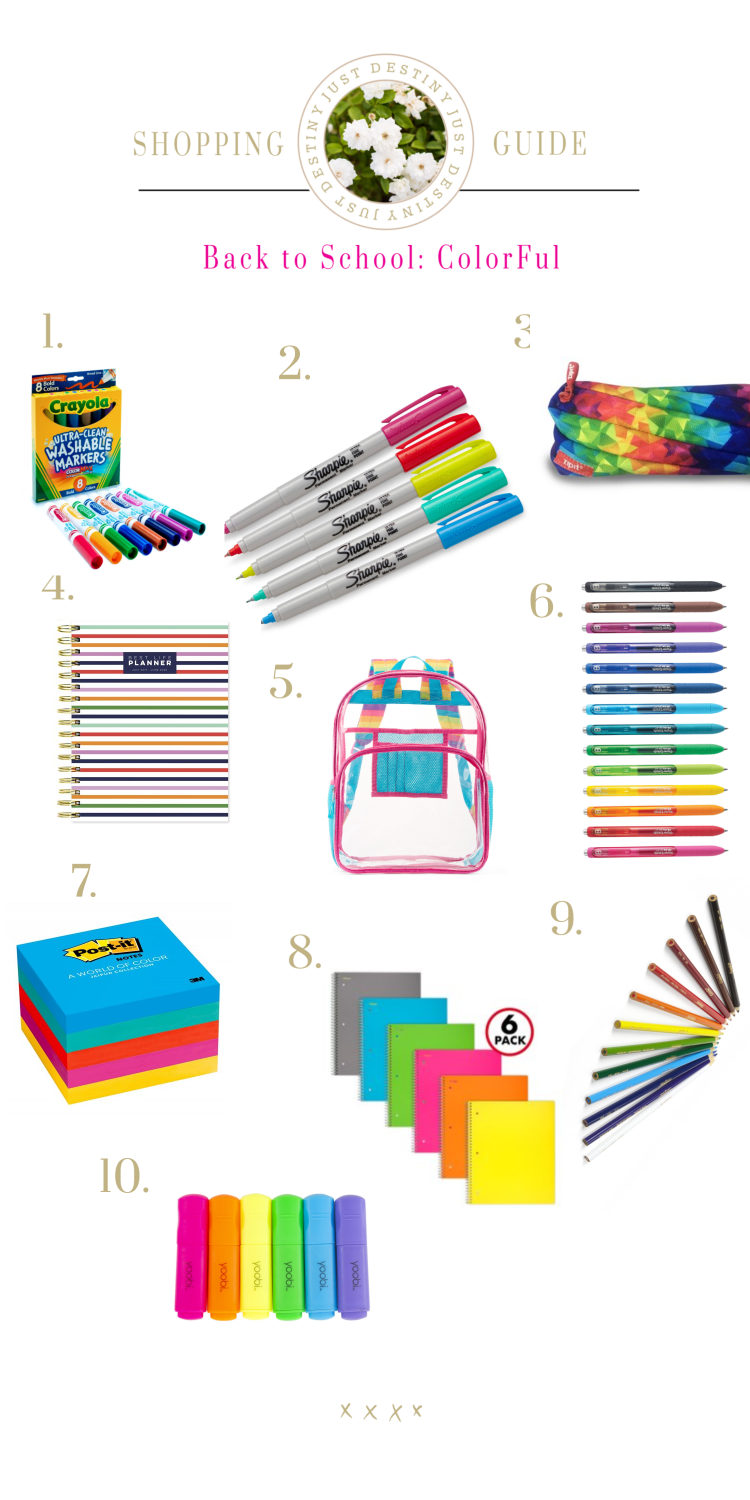 Our Favorite Back to School Supplies and Mom Hack worth Sharing!