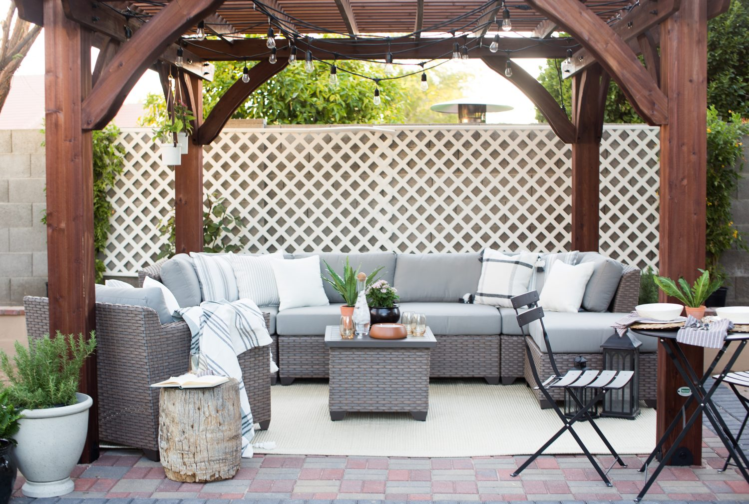 Luxury Pergola Options in Phoenix Area from Home Depot