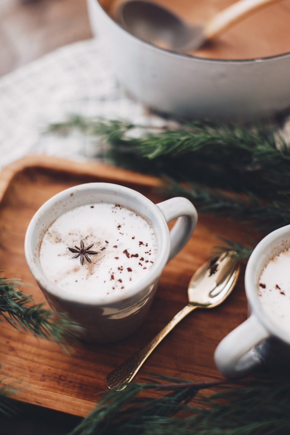 Dark Chocolate Chai Latte