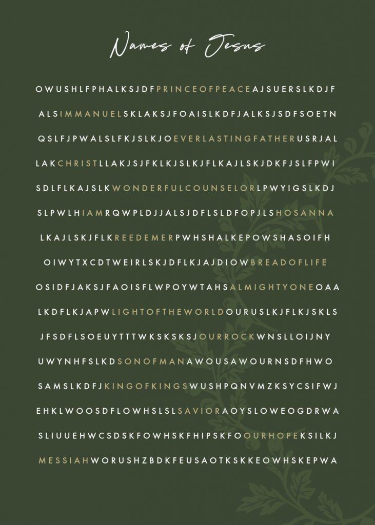 Names of Jesusu