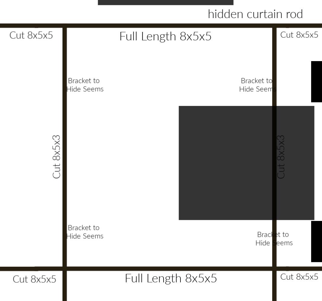 Ceiling Beams Pattern