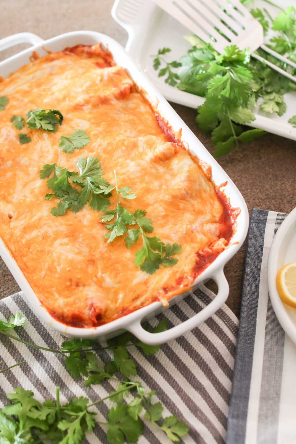 Quick and Easy Beef Enchiladas
