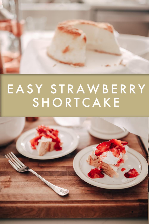 Easy Strawberry Shortcake Recipe, Strawberry Desserts, Strawberry Recipes