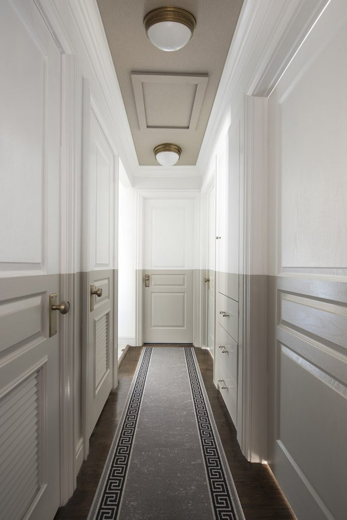 Ceiling details for hallway inspiration