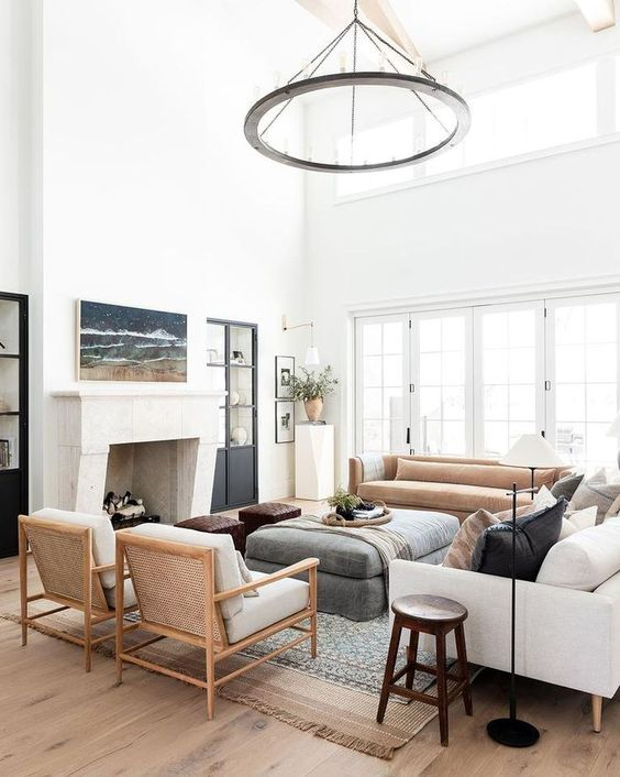 Mixing Light and Dark Tones in a Room
