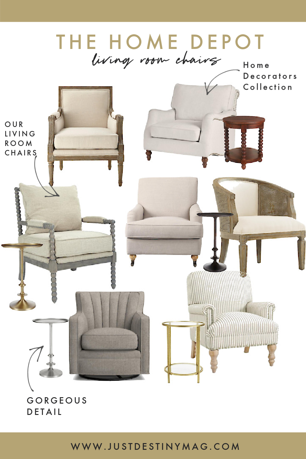 The Home Depot Online Living Room Chairs and Furniture Reviews