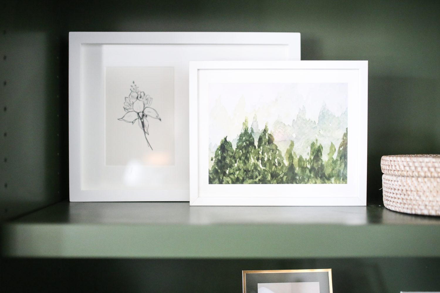 Minted Art Pieces for Neutral Homes