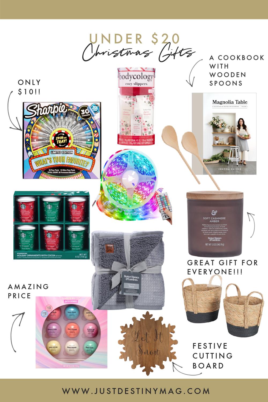 Gift Ideas Under 20 Just Destiny Home
