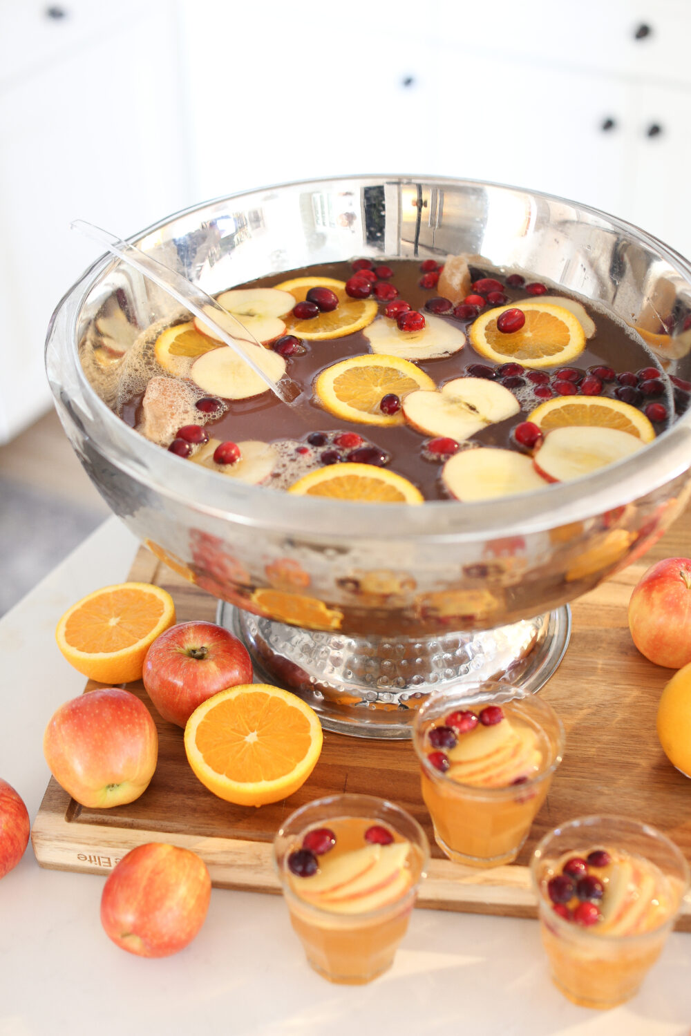 Punch Recipe: Thanksgiving Day Punch That They Won't Stop Sipping!