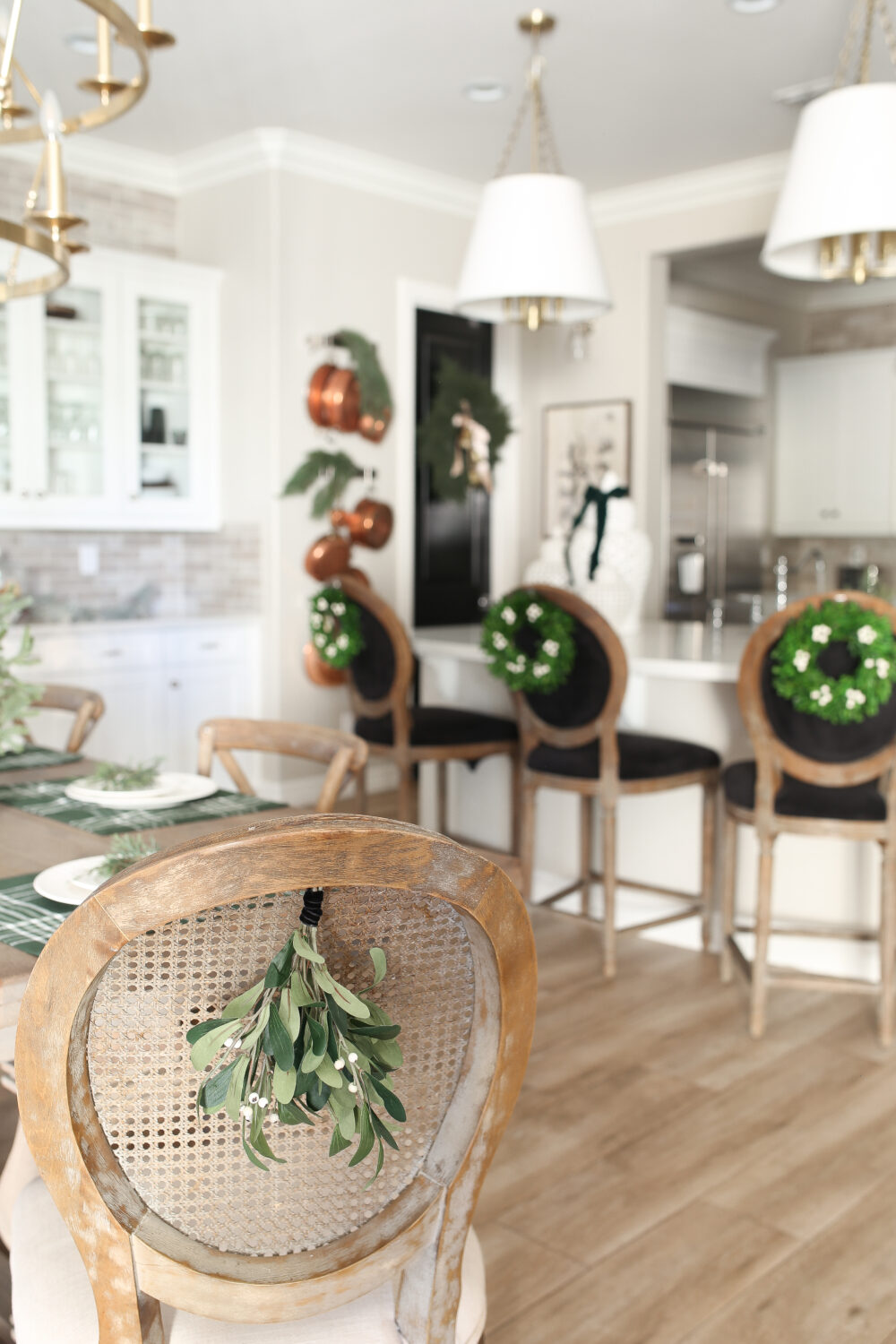 Casual Christmas Kitchen