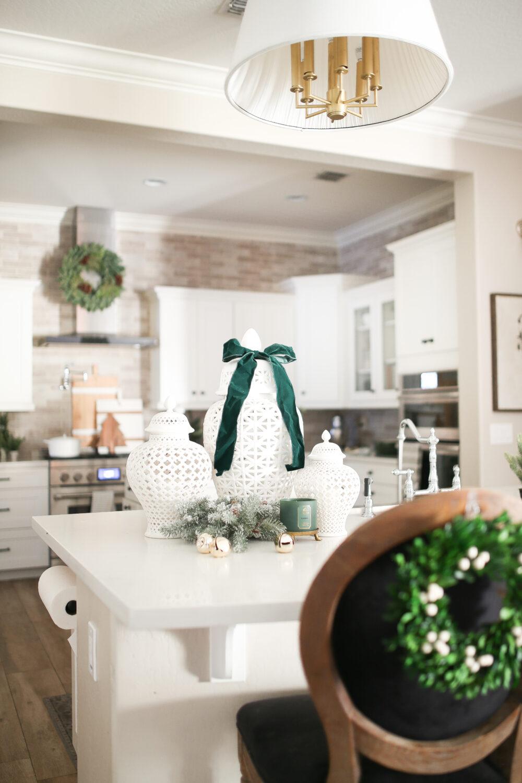 Elegant Christmas Kitchen