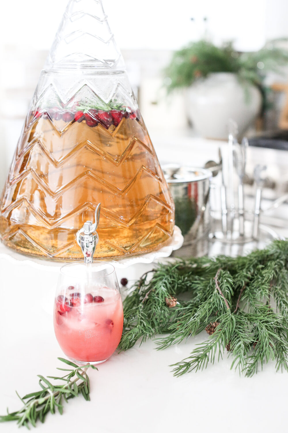 Festive Christmas Mocktail