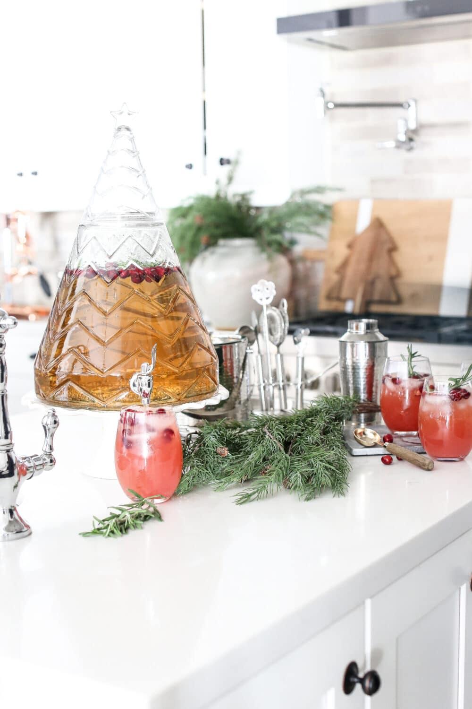 Cranberry Christmas Mocktail